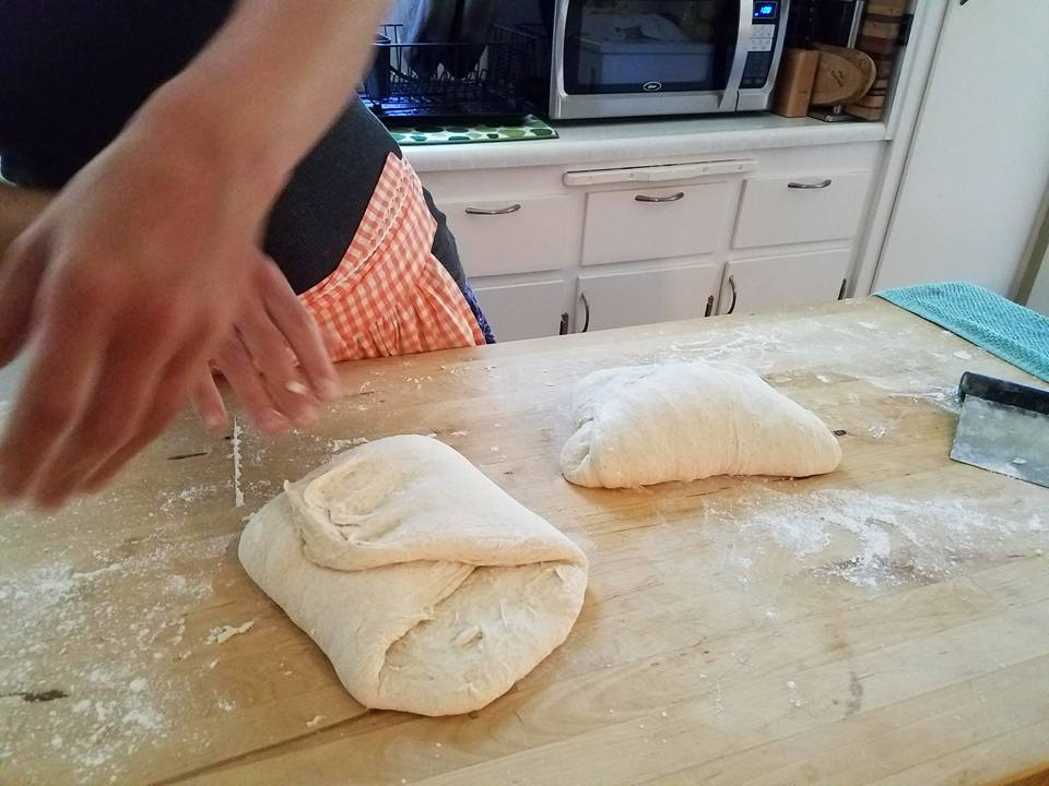 Folding and Shaping Dough
