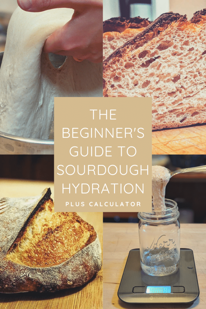 The Beginner's Guide to Sourdough Hydration (with Calculator)