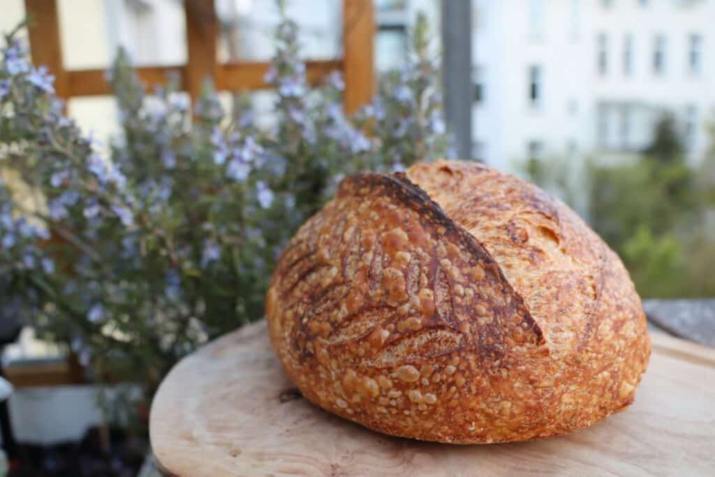 Bread baked by Hendrik from The Bread Code